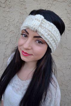 Knitted Turban Headband