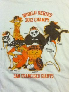 S.F. Giants - Where can I get one of these?! This is AWESOME!!!!!!!!!! HA HA!!!!!!!!!!!!!!!!!!!!! Love the Timmy Freak one. That's awesome.