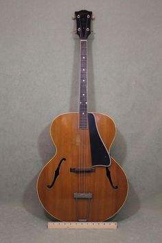 Vintage Authentic 1940s Gibson TG-50 Archtop Tenor Guitar ... NR #Gibson