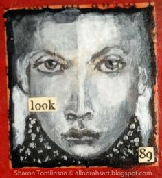 Face 89 by Sharon Tomlinson