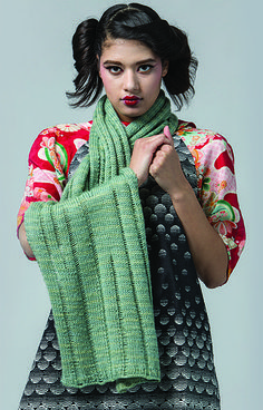 Get It Now The Aita Wrap by Bristol Ivy is featured in knit.wear Fall/Winter 2016 and can be purchased with the magazine or as an individual pattern. Dropped stitches Worked flat Worsted weight Diffic