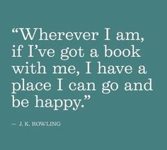 Image result for jk rowling reading quote