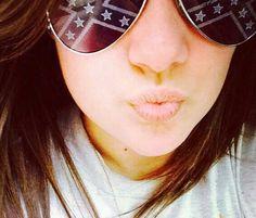Rebel flag glasses #DuckFace