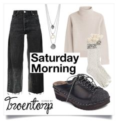 """""""Saturday Morning"""" by troentorp ❤ liked on Polyvore featuring Vanessa Seward, Troentorp and RE/DONE"""