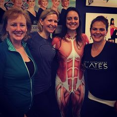 The teaching team for PNWP's March 2016 Therapeutic Pilates workshop: Lumbar Spine & SI Joint.   #MelanieByfordYoung #EricaLoder #CassieDiamond #PilatesForPTs #PacificNWPilates #PortlandOR #PilatesEducation #March2016