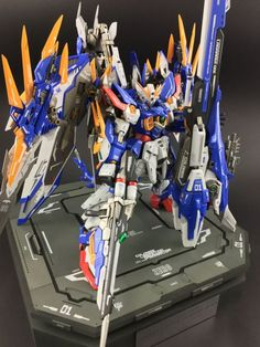 POINTNET.COM.HK - GBWC 2016 台灣 改裝作品 MG 1/100 Amazing Wing Gundam Zero