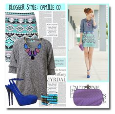 """Blogger Style: Camille Co"" by chixdejesus ❤ liked on Polyvore featuring SCARLETT, Tiffany & Co., Leetha, Été Swim, Kendra Scott, Bottega Veneta, Jimmy Choo, Bling Jewelry, ootd and BloggerStyle"