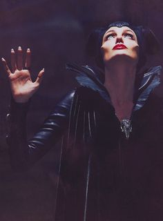 Angelina Jolie as Maleficent  Maleficent (2014)