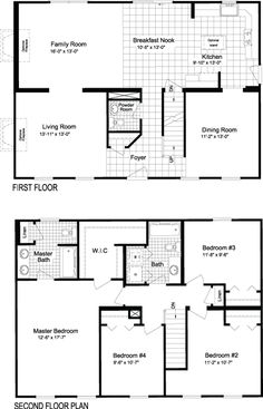 Modular Home Plans   Ranch, Cape Cod, Two Story, Multi Family