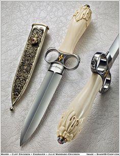cuchillo elegante