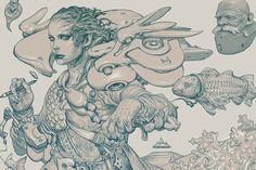 A Drawing Life : Katsuya Terada Illustrations And Interview