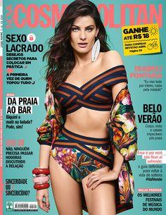 Isabeli Fontana Pose for Cosmopolitan Brazil January 2017 Cover