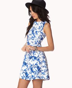 Floral Brocade Dress, from Forever 21