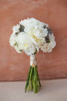 #peony, #bouquet    Photography: Jen Philips Photography - jenphilips.com/#    Read More: http://stylemepretty.com/2013/08/02/punta-de-mita-wedding-from-the-dazzling-details/
