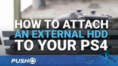 How to Attach an External HDD (Hard Drive) on PS4 | Firmware Update 4.50 | PlayStation 4 Guides You can finally attach an External HDD (Hard Drive) to your PlayStation 4 as part of PS4 firmware update 4.50. But how do you get it all to work? In this video guide we talk you through the process of extending your storage space by up to 8TB. --- For more information visit: http://ift.tt/TjYhqk Twitter: http://www.twitter.com/pushsquare Facebook: http://ift.tt/1Fl4Byt