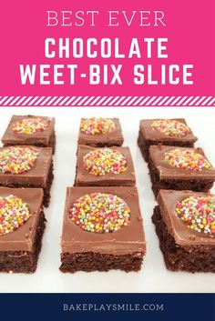 Chocolate Weet-Bix Slice image