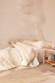 Urban Outfitters Tufted Geo Duvet Cover