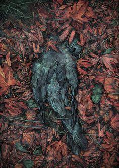 """""""Coś się kończy, coś się  zaczyna"""", ilustracja. #art #digital #painting #illustration"""
