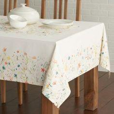 7. Maison d' Hermine Colmar 100% Cotton Tablecloth
