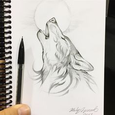 More commission sketches from Fan Expo Canada :) Some bigger projects are in the works too! #art #sketch #sketching #sketchbook #draw #drawing #wolf #artofdrawing