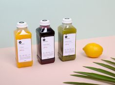 juice packaging and styling