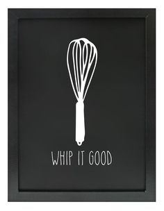 KITCHEN FUN PRINT WHIP IT GOOD | Homewares Online