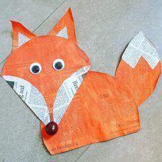 Instagram, Fox, Bricolage, Fox Art, Kindergarten, Hare
