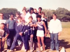 1977 Spring Track County Champs. ranked #2 in NY State. Coaches Schneider (L) Iaia (below) Burkley Nook (r)