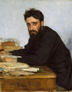 Ilya Repin - Vsevolod Garsjin 1855-1888