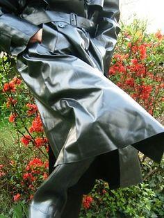 Macs and Boots Dog Raincoat, Hooded Raincoat, Heavy Rubber, Black Rubber, Rubber Raincoats, Rain Wear, J Crew, How To Wear, Macs