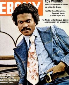Billy Dee gets personal. Billy Dee Williams, April 1974.