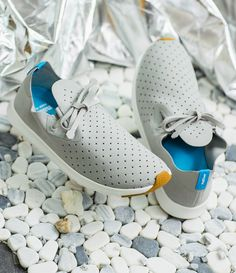 Beat the heat this summer with a pair of Native Shoes' super breathable Apollo sneaker.