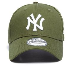 New Era MLB New York Yankees 9FORTY Essentials Cap ( 23) ❤ liked on Polyvore 353a2644f2