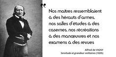 17 mars 1808 : décret de Napoléon qui crée le baccalauréat. Témoignage de Vigny sur l'éducation sous l'Empire