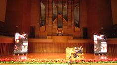 Casavant Frères pipe organ, Ordos National Theater, Inner Mongolia, China - organist Daniel Tappe