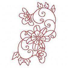 Image result for redwork patterns