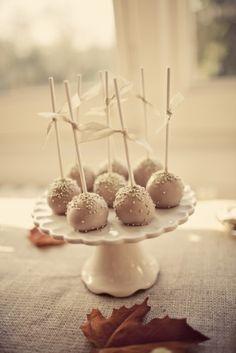 Wedding Cake Pops!