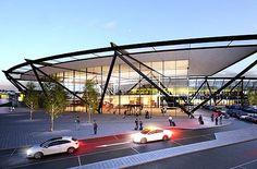 Lyon-Saint Exupéry Airport, Terminal 1 · Projects · Rogers Stirk Harbour + Partners