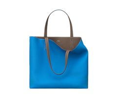 "Double Sens 45 Hermes reversible tote in taurillon Clemence Measures 17.5"" x 13.5"" x 5"""