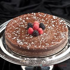 Flourless Chocolate Cake (Gluten Free) - The richest, most indulgent, smoothest chocolate experience ever.