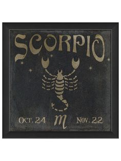 Scorpio by Artwork Enclosed on Gilt Home