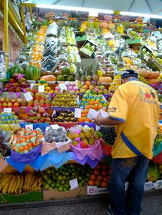 i was impressed with the variety of fruits that we available in central market, Sao Paulo Street Food Market, Central Market, Fresh Market, Variety Of Fruits, World Market, Farmers Market, Wonderful Places, South America, Adventure Travel