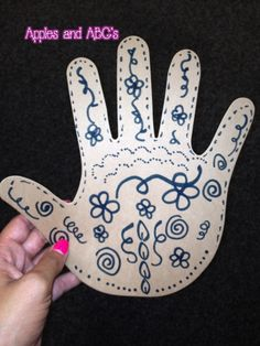 """India Craft Ideas...and a """"little"""" henna tattoo... from Apples & ABC's"""