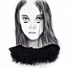 X 37 #illustration #artsy #artwork #pencil #instaart #instasketch #drawing #mood #vsco #vscocam #fashion #editorial #fashionillustration #easter #artsanity #instadaily #arts_helps #ink #blackandwhite #graphic #art #fashionsketc  By Tantowi Gilang Pratikto
