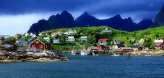 Stunning Shots of Reine, Norway