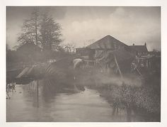 A Norfolk Boat-Yard - Peter Henry Emerson
