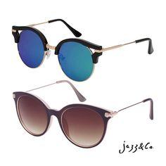 Jazz & Co. | modelos Club e Lily A escolha para uma semana brilhante é sua. Infos: contato@wearjazz. com (62)8223-6752(wpp) #soujazz #sunglasses #eyewear #wearjazz #shades #style