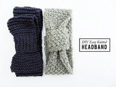 Knitting Patterns Galore - Newbie Headband