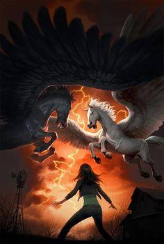 """The New Olympians,"" cover art by Jason Chan.  http://jasonchanart.blogspot.com/"