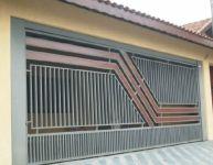 Portão de Ferro e Madeira_2